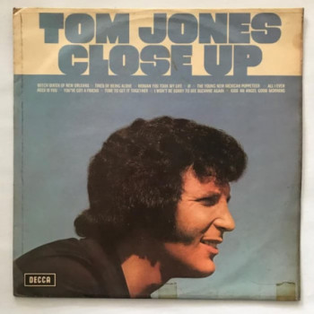 Tom Jones - Close Up - LP...