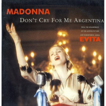 Madonna - Don't Cry For Me...