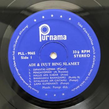Adi & Iyut Bing Slamet - LP...
