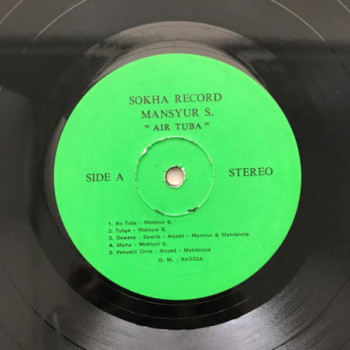 Mansyur S. - Air Tuba - LP...