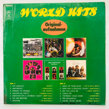 World Hits - LP Vinyl...