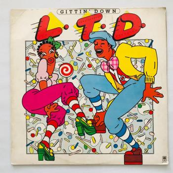 L.T.D. - Gittin' Down - LP...